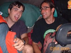 Preparando una salida al Rincón de Ademúz 2001